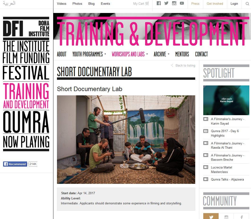 Documentary film Lab. DOHA.