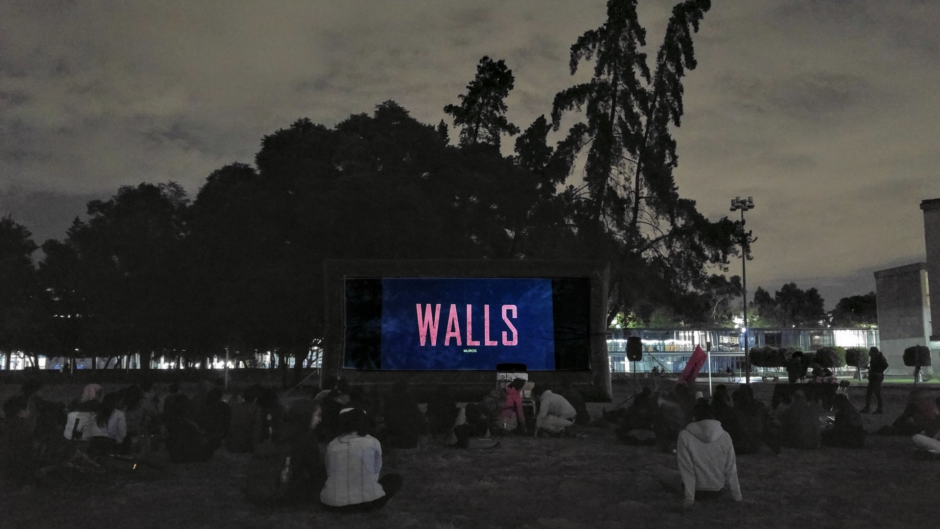 WALLS. ARENA filmproducer's documentary film
