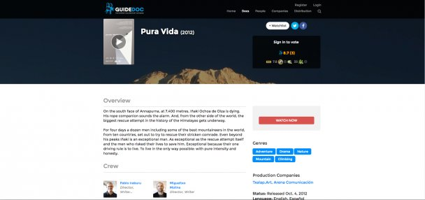 GUIDE DOC. Pura Vida online