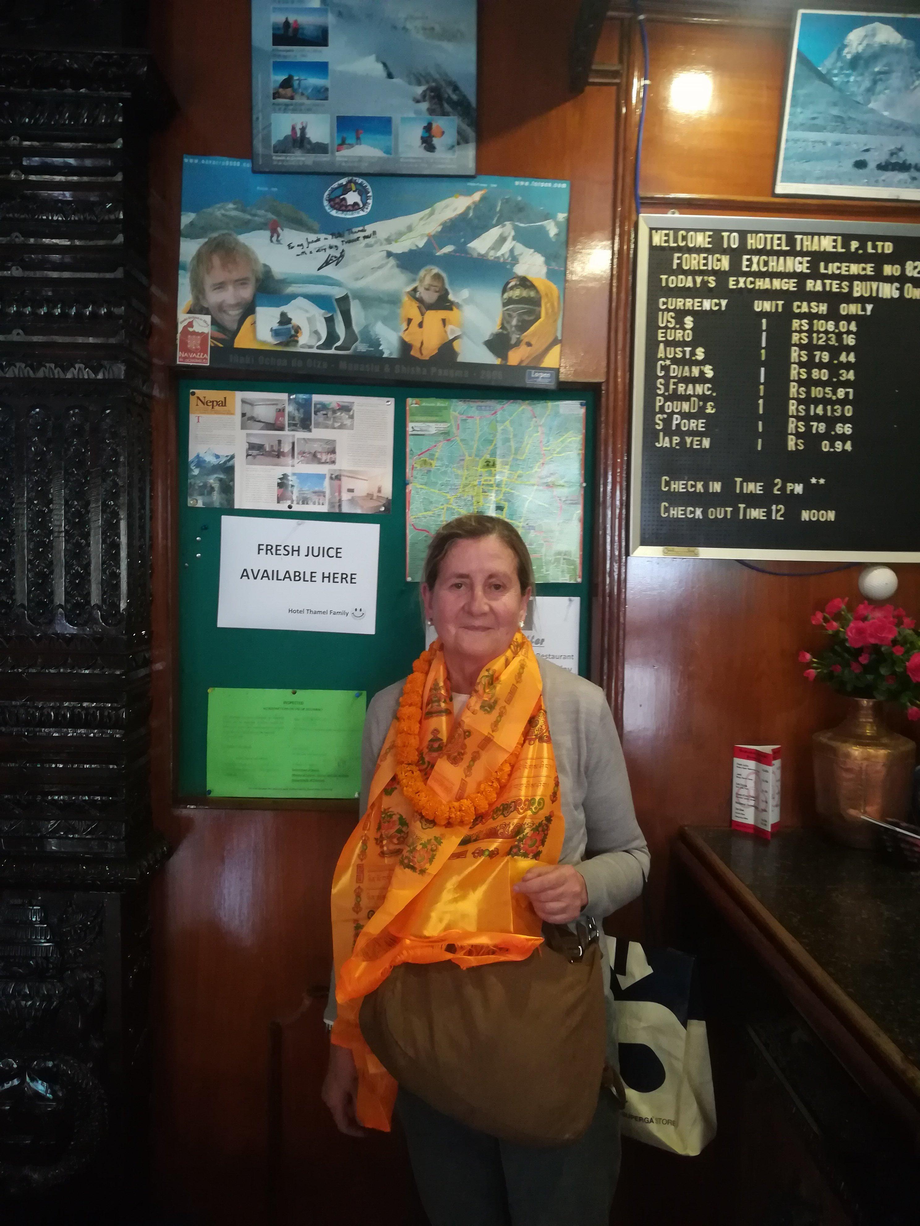 PILAR SEGUIN EN NEPAL