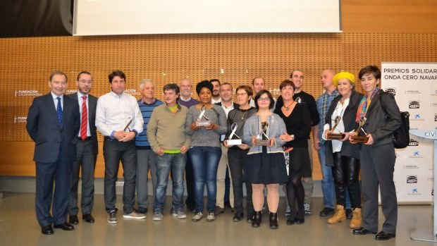 Premios solidarios OndaCero Navarra 2016