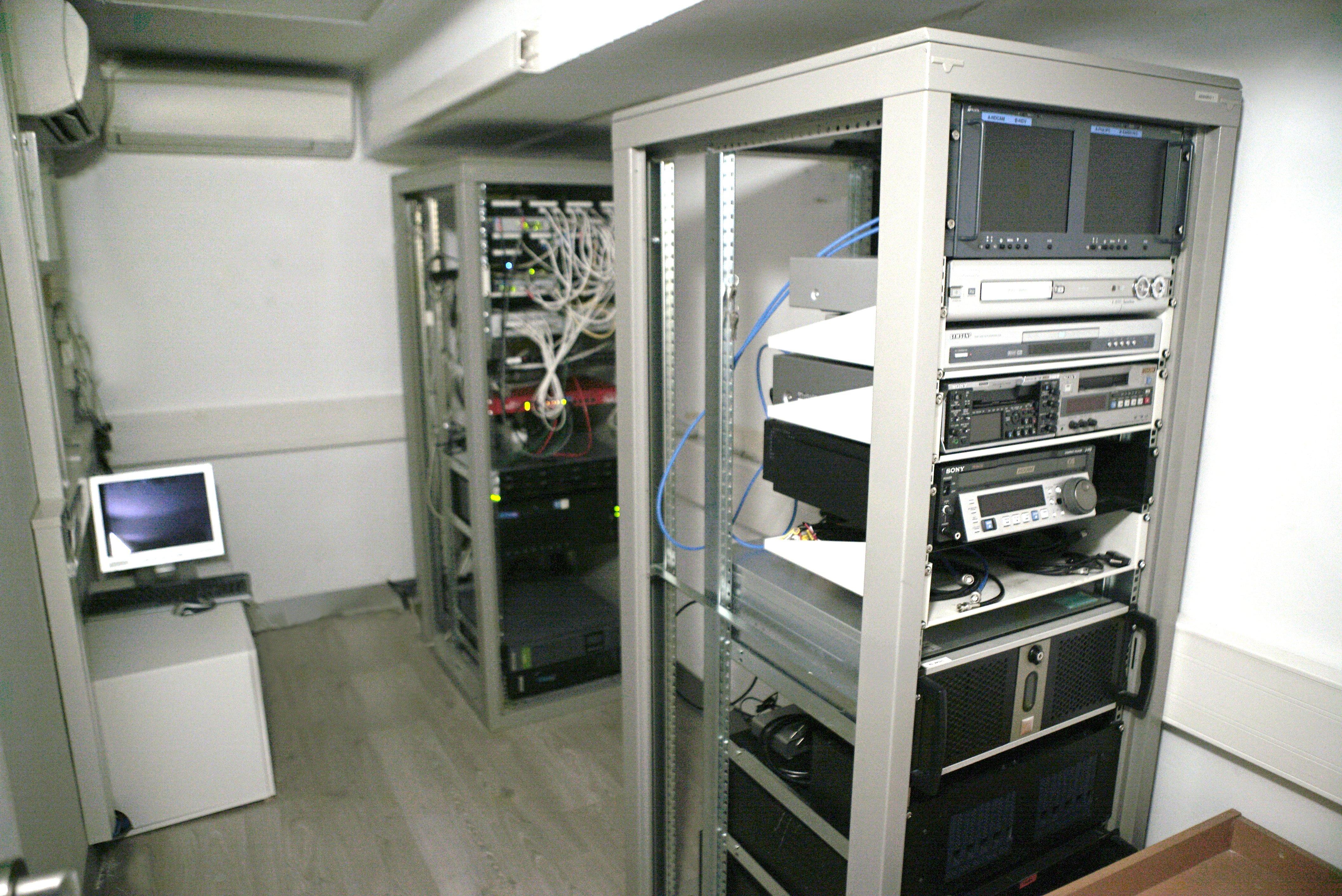 ARENA COMUNICACION. sala máquinas